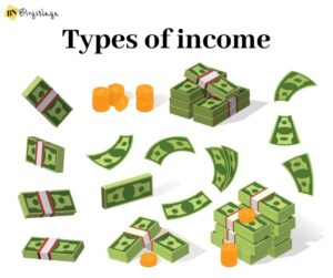 what are the types of income